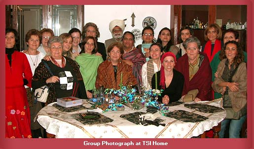 Group Photograph at TSI Home